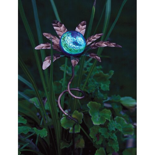 Palm Illuminaries Glow in The Dark Stake with Globe (Set of 4)