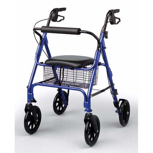 Medline Folding Rolling Walker