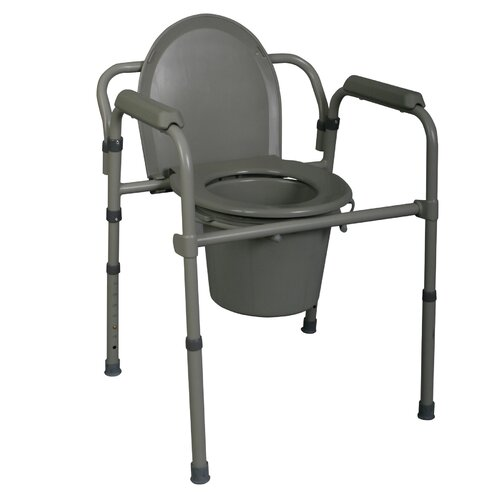 Medline 3-in-1 Deluxe Commode