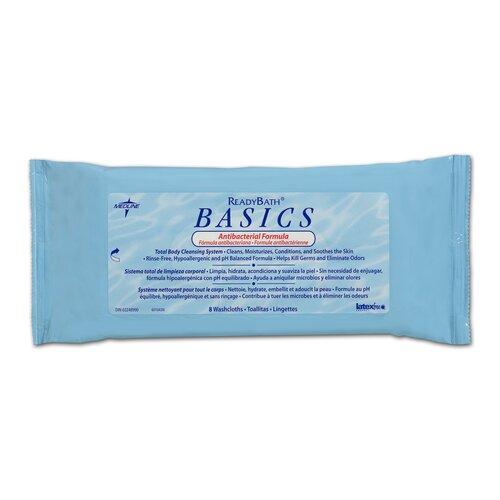 Ready Bath Antibacterial Basics Scented Cloth
