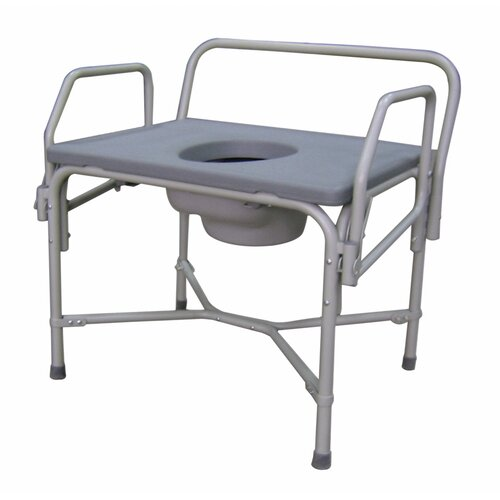 Medline Bariatric Drop Arm Commode