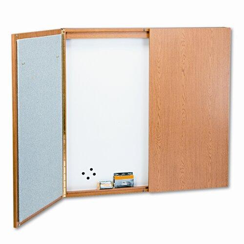 Quartet® Conference Room Cabinet Whiteboard
