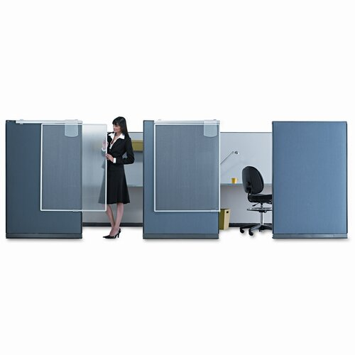 Quartet® Workstation Privacy Screen, 36w x 48h