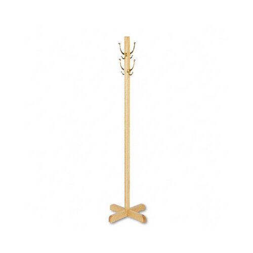 Quartet® Freestanding Wood Coat Rack