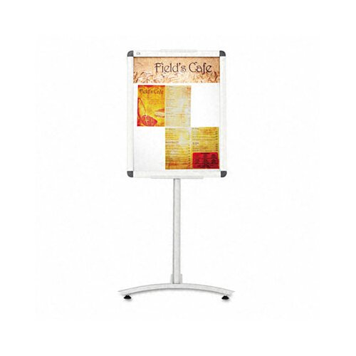 Quartet® Clip-Frame Pedestal Sign