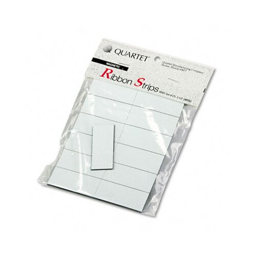 Quartet® Magnetic Write-On/Wipe-Off Strips, 25/Pack
