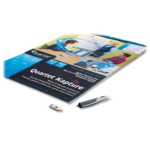 Quartet® Digital Flipchart Starter Kit, 1 Digital Pen, 30 Sheet Pad