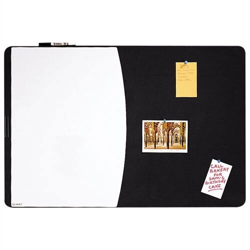 Quartet® Tack & Write Combo Dry-Erase and Marker Board