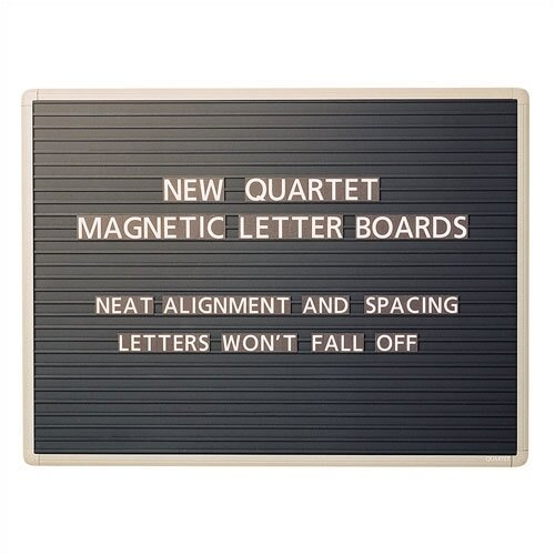 Quartet® Magnetic Letter Message Boards