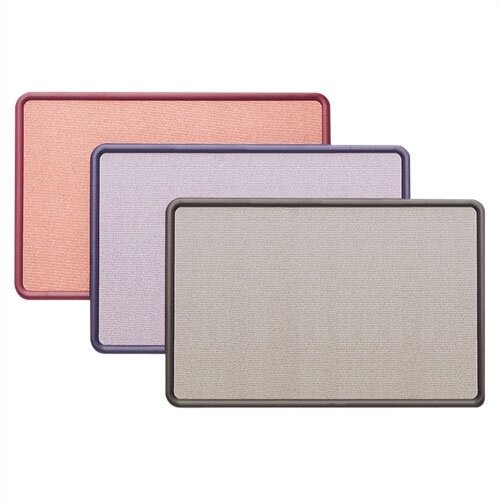 Quartet® Fabric Contour Bulletin Boards- Large
