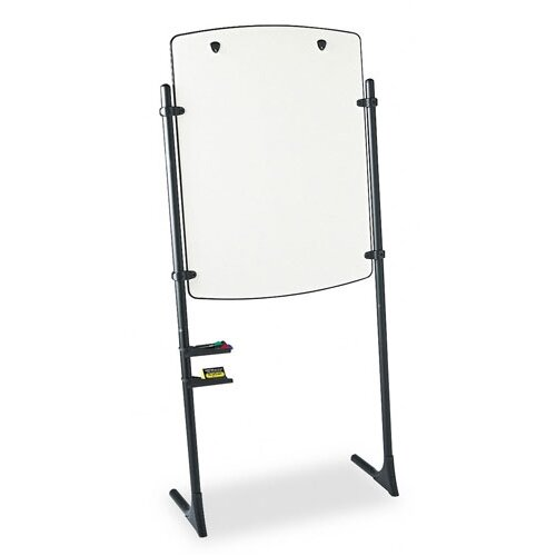 Quartet® Total Erase Presentation Dry-Erase Easel with Black Steel Frame