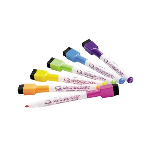 Quartet® Rewriteables Dry Erase Markers (Pack of 6)