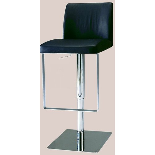 Chintaly Imports Adjustable Swivel Bar Stool