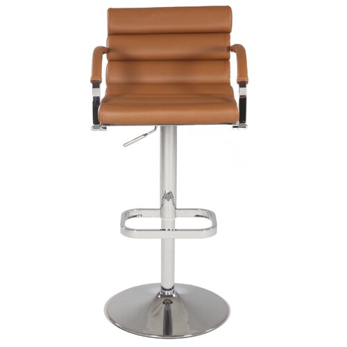 Pneumatic Gas Swivel Bar Stool with Cushion