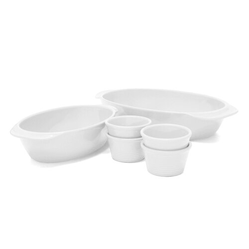 6 Piece Oval Baking Set
