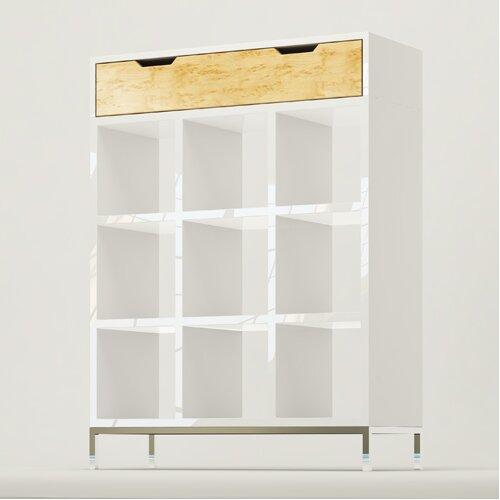 """EK Living Furniture FC1 Foyer 48"""" Bookcase"""