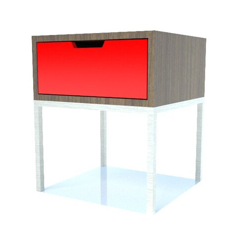 EK Living Storage End Table