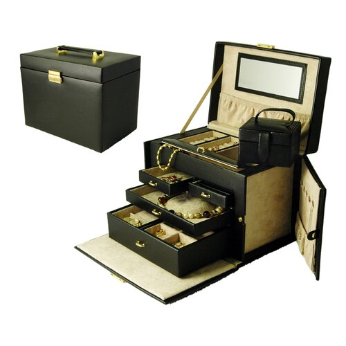 Ladies Classic Large Jewelry Box