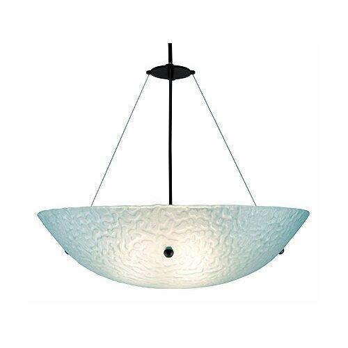 WPT Design 3 Light Bowl Inverted Pendant