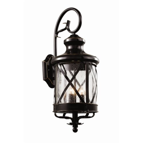 Exterior Wall Light Lantern : TransGlobe Lighting Outdoor Wall Lantern & Reviews Wayfair