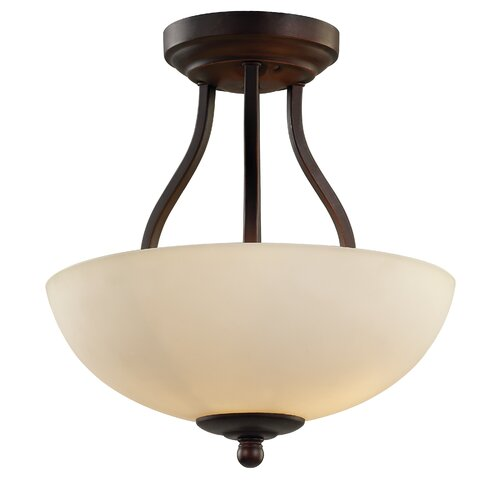 Clarissa 2 Light Semi Flush Mount
