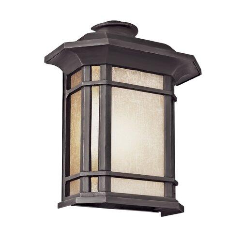 TransGlobe Lighting Corner Windows 2 Light Outdoor Pocket Lantern