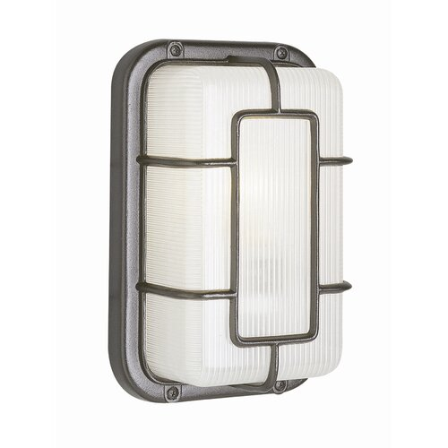 TransGlobe Lighting Outdoor 1 Ambient Light Wall Sconce
