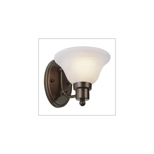 TransGlobe Lighting Outdoor 1 Light Wall Sconce - Energy Star