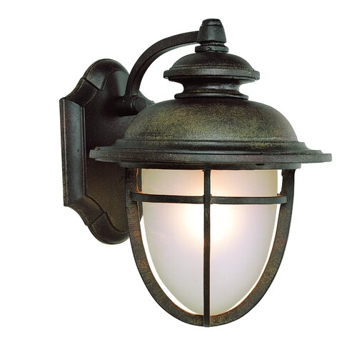 TransGlobe Lighting Energy Efficient 6 Light Outdoor Wall Lantern