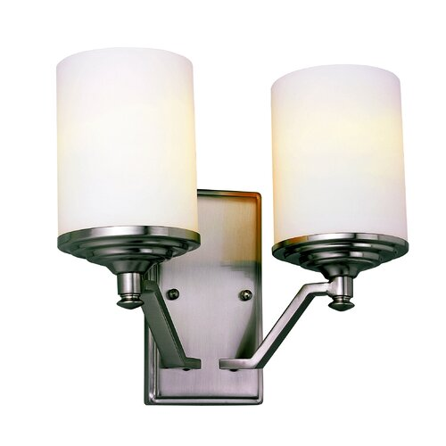TransGlobe Lighting Young And Hip 2 Light Wall Sconce