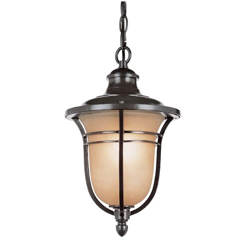 TransGlobe Lighting 3 Light Outdoor Hanging Lantern