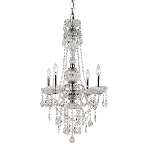 Versailles 4 Light Chandelier