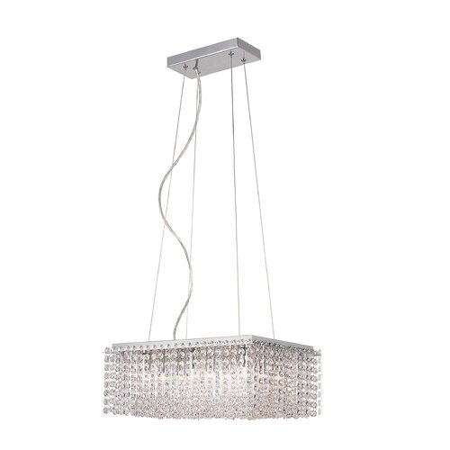 TransGlobe Lighting 9 Light Kitchen Island Pendant