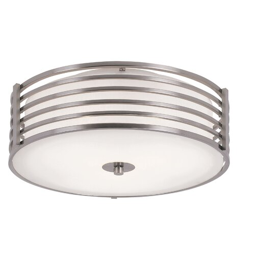 transglobe lighting 2 light small metal flush mount