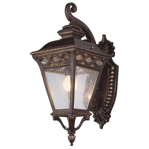 TransGlobe Lighting Outdoor 2 Light Medium Down-Light Wall Lantern