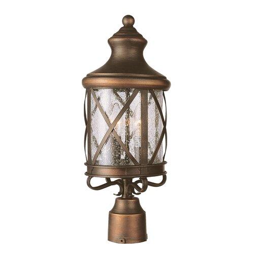 TransGlobe Lighting 4 Light Post Lantern
