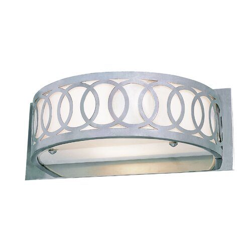 TransGlobe Lighting 1 Light Olympic Rings Wall Sconce with Glass Shade