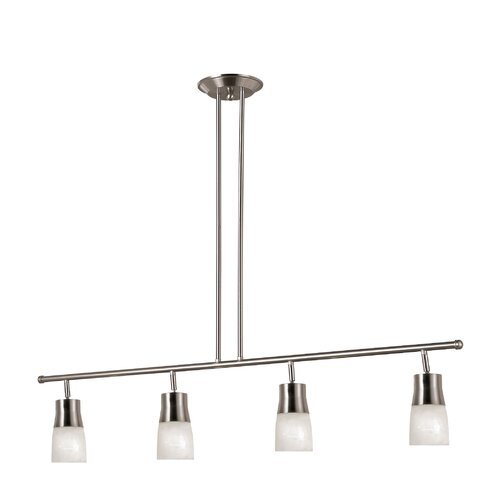 TransGlobe Lighting 4 Light Track Light