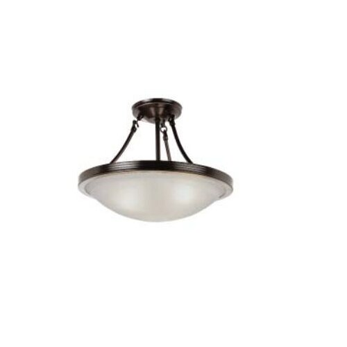 TransGlobe Lighting 1 Light 13W Flush Mount