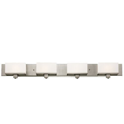 TransGlobe Lighting New Cube 4 Light Bath Vanity Light
