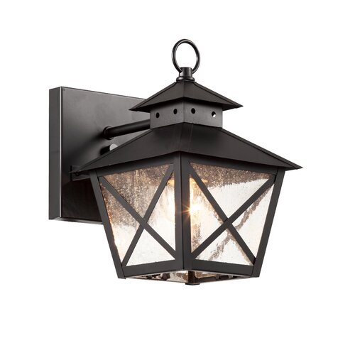 TransGlobe Lighting Chimney Vented 1 Light Outdoor Wall Lantern