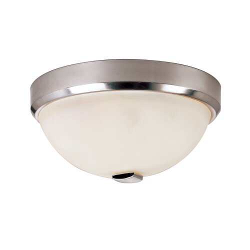 TransGlobe Lighting Squared Cap 12 Light Flush Mount