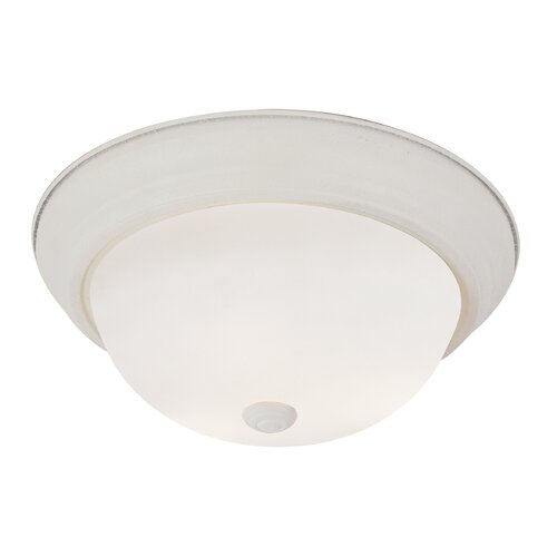 Button 3 Light Flush Mount