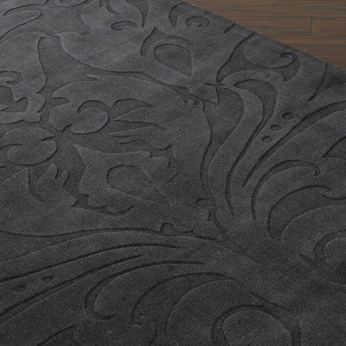 Candice Olson Rugs Sculpture Square Black Rug