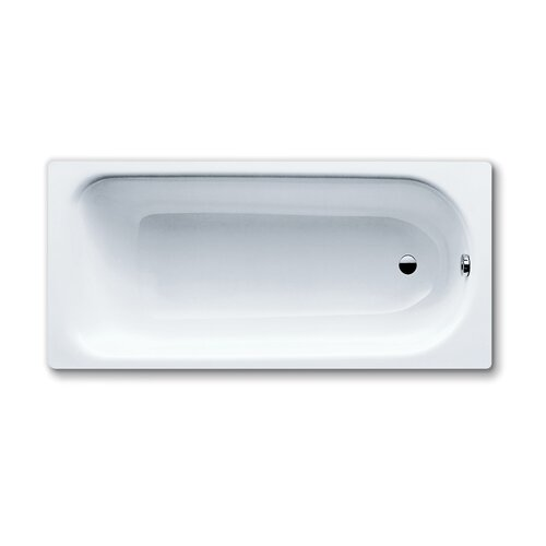"Kaldewei Saniform Plus 63"" x 28"" Bathtub with Reversible Drain"