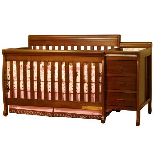 Ashlee Athena Kimberly 3-in-1 Convertible Crib Combo