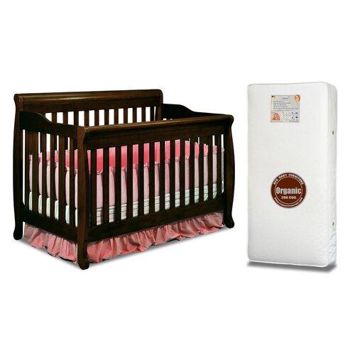 AFG Furniture Alice 3-in-1 Convertible Crib