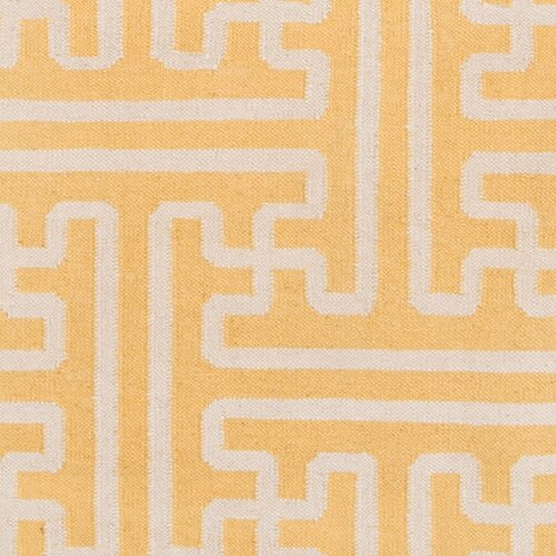 Smithsonian Rugs Archive Yellow/Ivory Rug