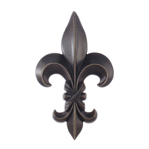 Legacy home fleur de lis sculpture wall decor reviews for Fleur de lis home decorations