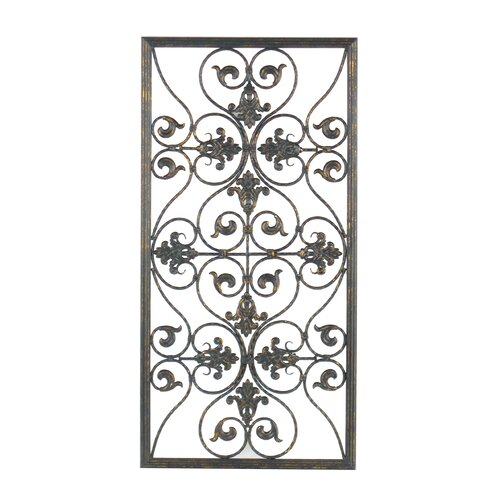 legacy home forged grille wall d cor reviews wayfair. Black Bedroom Furniture Sets. Home Design Ideas